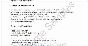 College Athlete Resume Expensive Fitness Instructor Fresh Best Sample Application