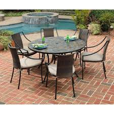 Pier One Dining Table Set by Patio Ideas Tile Top Patio Dining Table Set Bq Patio Furniture