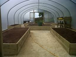 Sturdi Built Sheds Maine by Raised Beds Layout For An 18ft Wide X 42ft Long Polytunnel Http