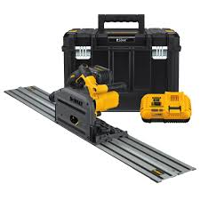 Dewalt Tile Saws Home Depot by Makita 12 Amp 6 1 2 In Corded Plunge Saw With 55 In Guide Rail