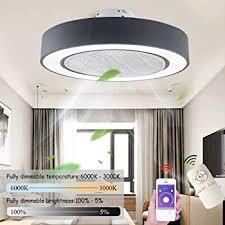 deckenventilator mit beleuchtung moderne led 72w fan