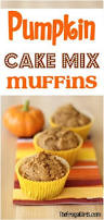 Cake Mix And Pumpkin Puree Muffins by 25 Easy Pumpkin Recipes To Make This Fall The Frugal Girls