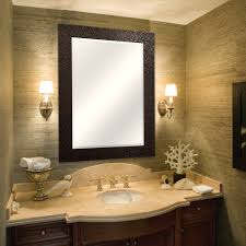 Oil Rubbed Bronze Bathroom Accessories by Amazon Com Mcs 24x36 Inch Beveled Mirror 32x44 Inch Overall Size