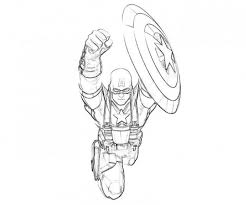 Free Printable Captain America Coloring Pages For
