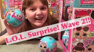 NEW WAVE 2 LOL Surprise Dolls Blind Box Toys