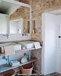 modernes und rustikales badezimmer mallorca landhaus bilder