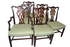 Set Of Six English Chippendale Style Mahogany Antique ... Victorian Arts And Crafts Solid Oak Antique Glastonbury Chair Original Primitive Press Back Rocking 1890 How To Appraise Chairs Our Pastimes Bargain Johns Antiques And Mission Identifying Ski Country Home Replace A Leather Seat In An Everyday Wooden High Chair From 1900s Converts Into Rocking Lborough Leicestershire Gumtree Sold Style Refinished Maple American Style Childs Antiquer Rocker Reupholstery Vintage