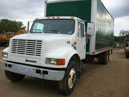 1998 International 4900 Box Truck For Sale, 292,042 Miles | Jackson ...