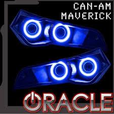 Oracle Can Am Maverick ORACLE LED Halo Kit Amber