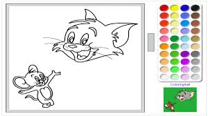 Tom And Jerry Online Coloring Page For Kids