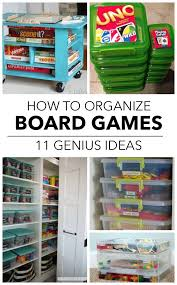 Best 25 Board Game Storage Ideas On Pinterest