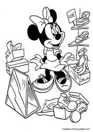 Minnie Mouse Coloring Pages For Kids Printable Online