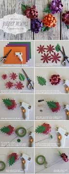 DIY Paper Mums For Your Wedding Or Event
