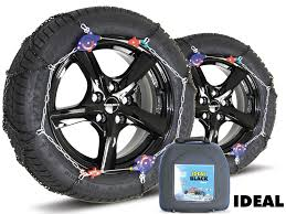Snow Chains- Ideal Black Premium - Size 10 - SnowChainsandSocks.co.uk