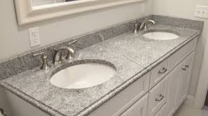Bathroom Countertop Materials Comparison by Selecting The Right Countertop Thickness Home Design Tips