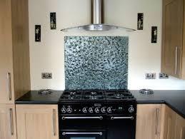 Backpainted Textured Glass Splashback