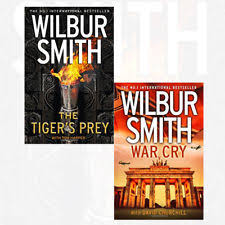 Item 4 The Tigers Prey War Cry Collection 2 Books Set Pack By Wilbur Smith New