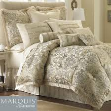 J Queen New York Marquis Curtains by Fairfield Scroll Comforter Bedding From Marquis By Waterford