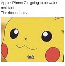 Apple iPhone 7 Is Going to Be Water Resistant the Rice Industry