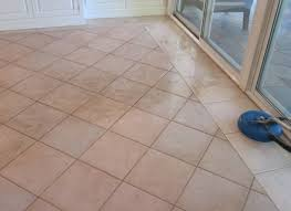 cleaning ceramic tile floors with vinegar after installation