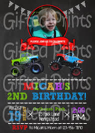 Birthday Invitation, Monster Truck Theme Birthday Cards Boys Monster Trucks Truck Nestling Party Invitations Invitation Examples Truck Racing Car 2 3 Etsy 13 Best Jam Inspirational Amazon Lovely Cyclops 19 Mormotanet Pink Svg File With Hearts To Make Shirts Invitations Invite Naptime Serenity Invites Unique Of Blaze And The Templates Free Printable Free