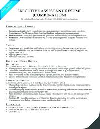 Sample Resume For Administrative Assistant Office Manager Objective Executive Template Medical Senior A Example Executiv