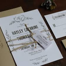 Antler Monogram Rustic Wedding Invitation weddinginvitation