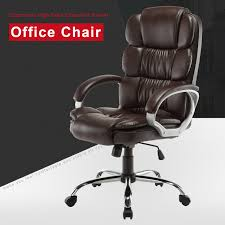 PU Leather Office Chair High Back Executive Task Ergonomic Computer ... Odessa High Back Executive Chair Adjustable Armrests Chrome Base Amazonbasics Black Review Youtube Back Chairleatherette Home Fniture On Carousell Shop Bodybilt 272508 Cosset Highback By Sertapedic Srj48965 Der300t1blk Derby Faux Leather Office 121 Jersey Faced Armchair Cheap Boss Transitional Highback Walmartcom Amazoncom Essentials Fabchair Ayrus With Ribbed Cushion Edge High Meshback Executive Chair With Lumbar Support Ofx Office
