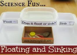 Materials Sink Or Float by Floating And Sinking Science Activity Learning 4 Kids