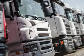 100 Euro Trucks Pre Owned For Sale Row Of With Shallow Depth