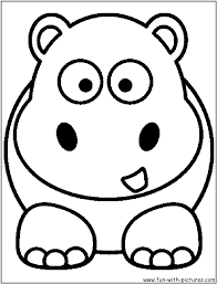 Perfect Hippo Coloring Pages 87 On Print With