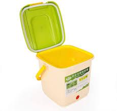 shioucy küche komposteimer 9l abfall fermer pp material