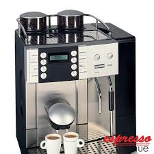Franke Flair One Touch Cappuccino Machine W 2 Bean Hoppers