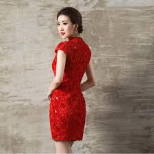 aliexpress com buy women red lace applique chinese collar short