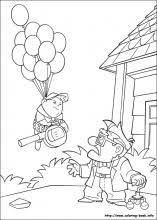 Up coloring pages on Coloring Bookfo