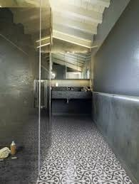Incredible Bathroom Topped Off With A Beautiful Patterned Terrazzo Floor New Range Of Coming