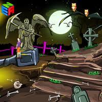 Halloween Escape Walkthrough by Ena Halloween Creepy Cemetery Escape Walkthrough