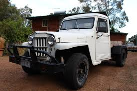Rare Aussie1966 Willys 4x4 Pickup - Vintage Jeep® Vehicles 1941-71 ...
