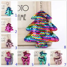 2018 New Sequin Christmas Tree Deer Keychain Handbag Pendant Luggages Accessories Home Party Gifts From Atopstore8 067