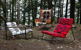 100 Gus Rocking Chair Pendleton And Modern Collaborate On New Line InsideHook