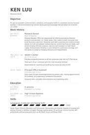 Personal Banker Resume Example