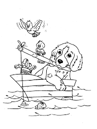 Free Printable Dog Coloring Pages Kids Colouring