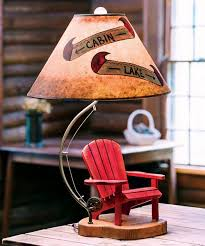 Rustic Lamps Log Cabin Lodge And Western Lamp Collection