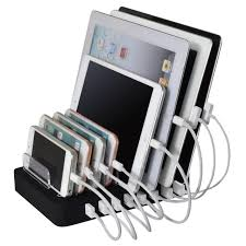 le de bureau usb 96 w 8 ports de bureau usb chargeur multi fonction usb station de
