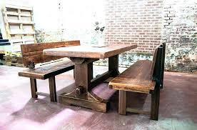 Kitchen Table And Bench Benches With Backs Dining