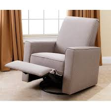 Abbyson Living Hampton Nursery Swivel Glider Recliner Chair in