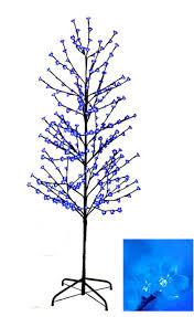 Fiber Optic Christmas Trees At Kmart by Trees Blue Lights Sears