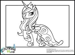 My Little Pony Coloring Pages Princess Celestia In A Dress 37