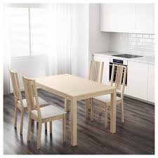 Dining Room Table Leaf Replacement by Bjursta Extendable Table Birch Veneer Ikea