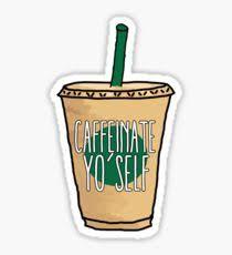 Starbucks Tumblr Drawing Stickers